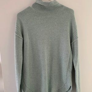 Gap Blue Turtleneck Sweater